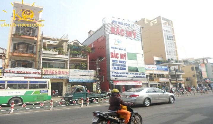 Cho thuê nhà đường Phan Đăng Lưu,